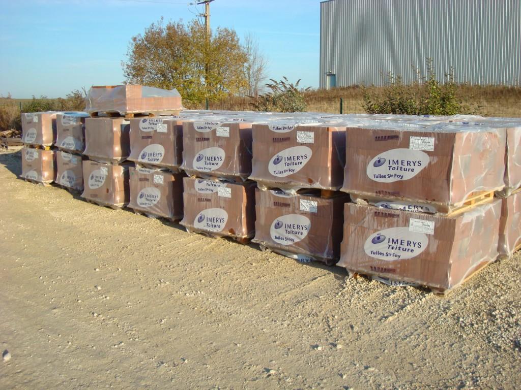 Ventes de matériaux de construction